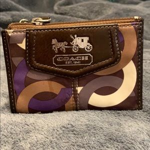 Authentic Coach Key/Card Holder